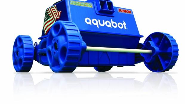Aquabot Pool Rover Jr. Robotic Pool Cleaner Review & Video
