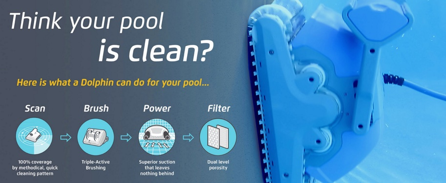 the best new robotic pool cleaners for 2017 dolphin premiere 2016 think your pool is clean