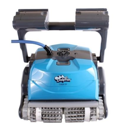 Dolphin Z5 Front View Robotic Pool Cleaners Compared