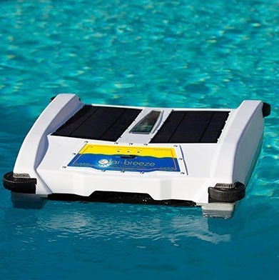 Solar Breeze NX Robotic Pool Cleaner floating