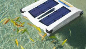 Solar Breeze NX: Collecting Leaves on Pool Surface