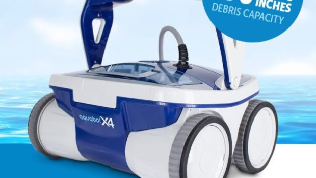 Aquabot X4 Robotic Pool Cleaner Review Great Value