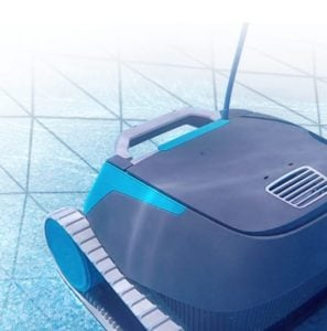 Dolphin Escape robotic pool cleaner for above ground pools - SmartNav