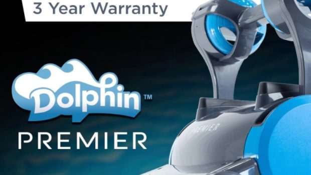 Dolphin Premiere robotic pool cleaner - 3 year warranty