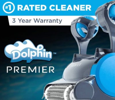 Dolphin Premiere Robotic Pool Cleaner Review Robotic