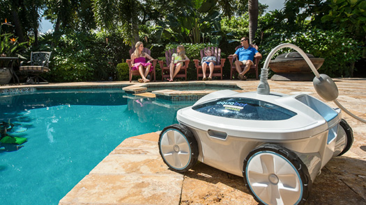 The 4 Best Robotic Pool Cleaners For Above Ground Pools 2018 Update