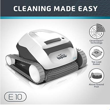E10 robotic pool cleaner