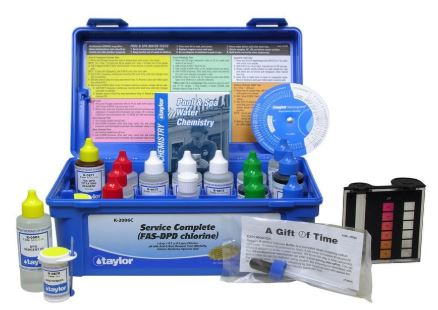 Taylor Service Complete Pool Water Test Kit