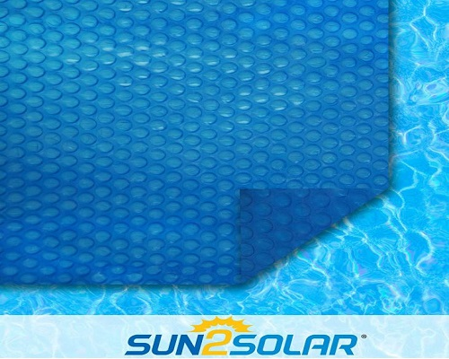 Sun2Solar Blue Rectangle Solar Cover